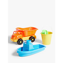 Buy John Lewis Truck Set Online at johnlewis.com