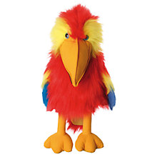 Buy The Puppet Company: Red Macaw Puppet Online at johnlewis.com