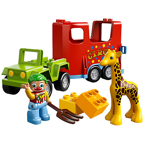 Buy LEGO Duplo Circus Transport Online at johnlewis.com