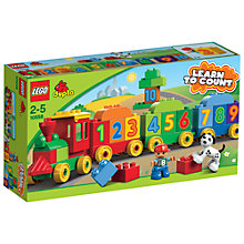 Buy LEGO DUPLO 10558 Number Train Online at johnlewis.com