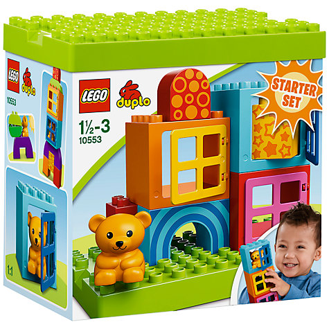 Buy LEGO DUPLO Toddler Build & Play Cubes Online at johnlewis.com