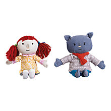 Buy Abney & Teal Beanie Toy, Assorted Online at johnlewis.com