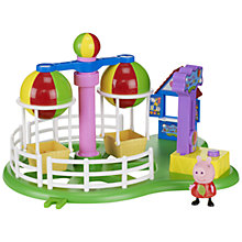Buy Peppa Pig Theme Park Balloon Ride Playset Online at johnlewis.com