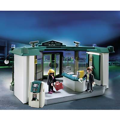 Click here for Playmobil City Action Bank With Safe