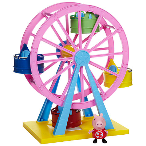 Buy Peppa Pig Theme Park Big Wheel Online at johnlewis.com