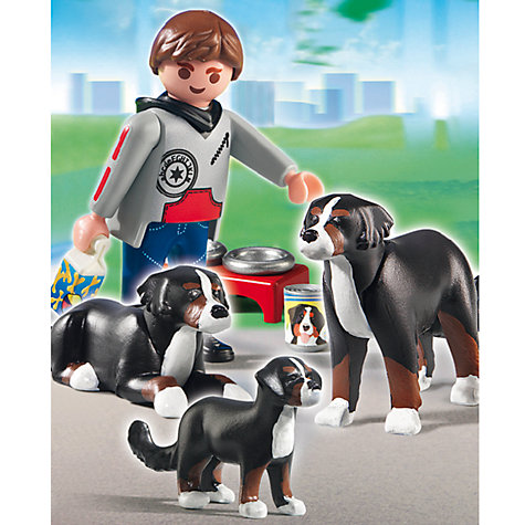 Buy Playmobil Family Leisure Dogs, Assorted Online at johnlewis.com