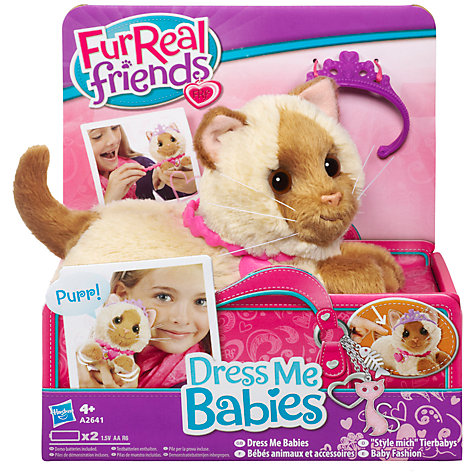 Buy FurReal Dress Me Baby, Assorted Online at johnlewis.com
