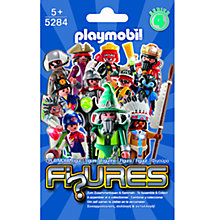 Buy Playmobil Male Figure, Series 4, Assorted Online at johnlewis.com