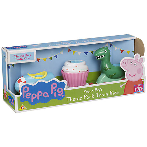Buy Peppa Pig Theme Park Train Ride Online at johnlewis.com