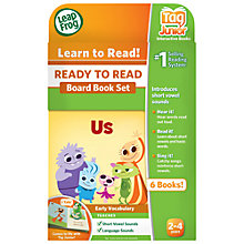 Buy LeapFrog Tag Junior, Ready To Read Board Book Set Online at johnlewis.com