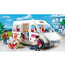 Buy Playmobil Hotel Shuttle Bus Online at johnlewis.com