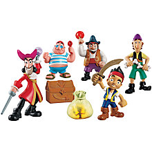 Buy Jake and the Never Land Pirates Single Deluxe Figure, Assorted Online at johnlewis.com
