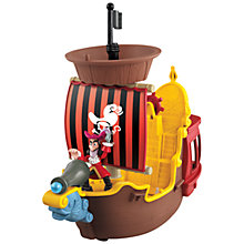 Buy Jake and the Never Land Pirates: Hook's Jolly Roger Pirate Ship Online at johnlewis.com
