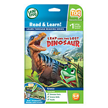 Buy LeapFrog Tag Read & Learn, Leap and the Lost Dinosaur Book Online at johnlewis.com