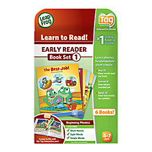 Buy LeapFrog Tag Junior, Early Reader Book Set 1 Online at johnlewis.com