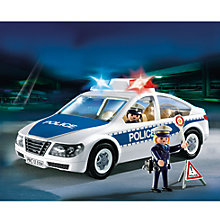Buy Playmobil City Action Police Car Online at johnlewis.com