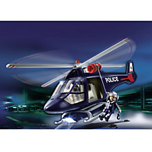 Buy Playmobil City Action Police Helicopter Online at johnlewis.com