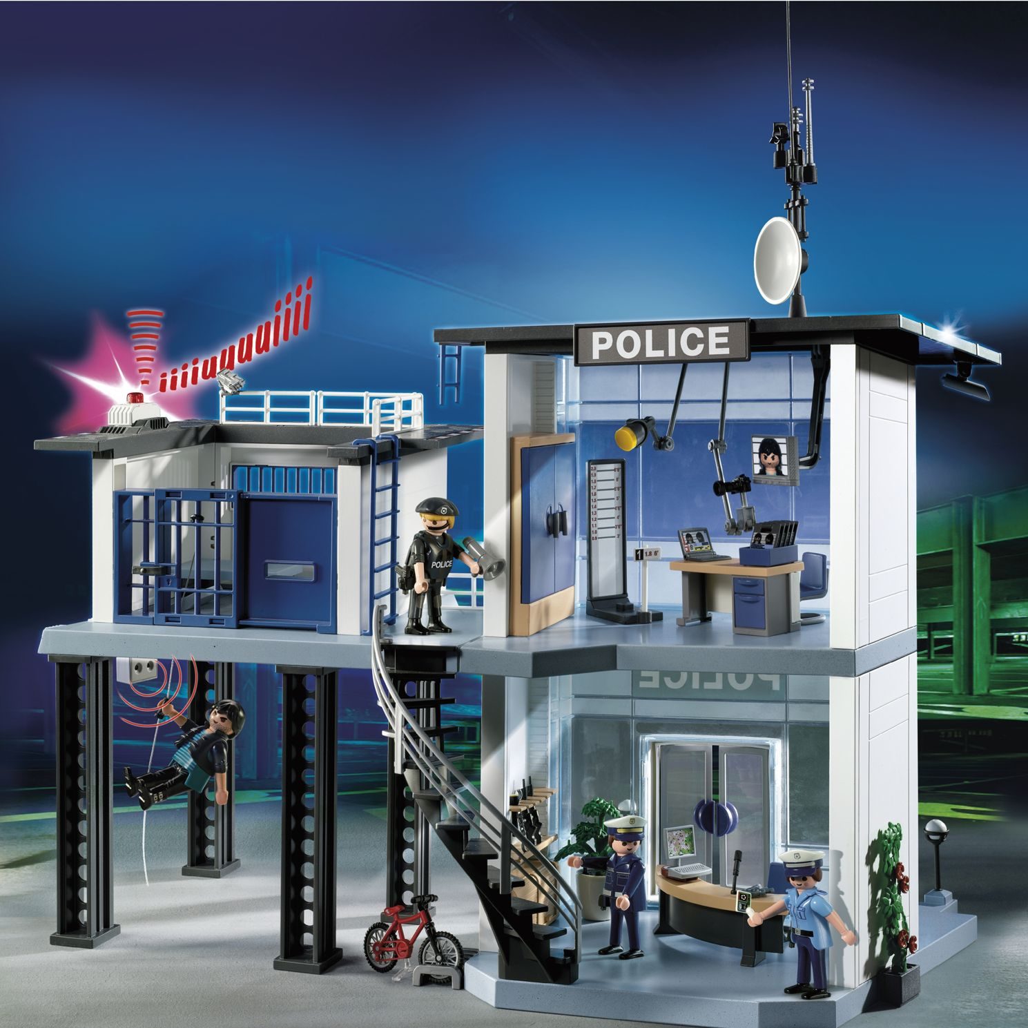 Click here for Playmobil Police Station