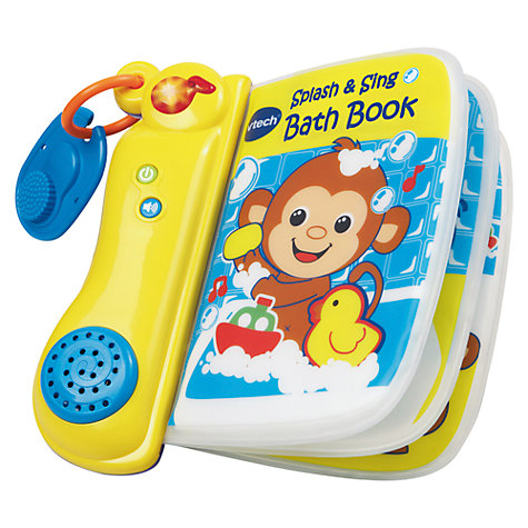 Buy V-Tech Splash and Sing Book Online at johnlewis.com