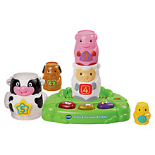 Buy VTech Stack and Discover Animals Online at johnlewis.com