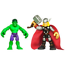 Buy Marvel Super Hero Figures, Pack of 2, Assorted Online at johnlewis.com