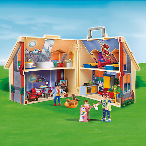 Buy Playmobil Take Along Doll's House Online at johnlewis.com