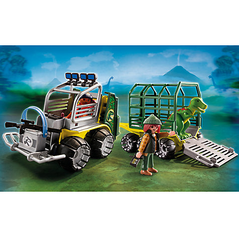 Buy Playmobil Transport Vehicle and Baby T-Rex Online at johnlewis.com