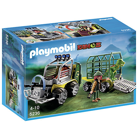 Buy Playmobil Dinos Transport Vehicle and Baby T-Rex Online at johnlewis.com