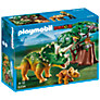 Buy Playmobil Explorer and Triceratops with Baby Online at johnlewis.com