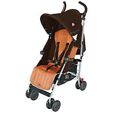 Buy Maclaren Quest Sport 2013 Buggy, Coffee/Orange Online at johnlewis.com