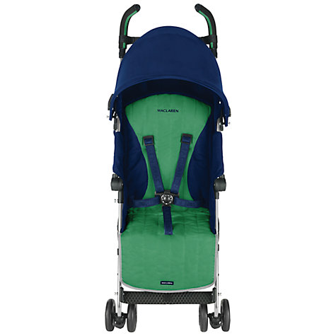 Buy Maclaren Quest Sport 2013 Buggy, Blue/Jellybean Online at johnlewis.com