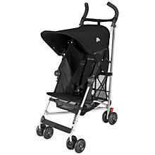 Buy Maclaren Globetrotter Buggy, Black Online at johnlewis.com