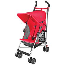 Buy Maclaren Globetrotter Buggy, Scarlet/Charcoal Online at johnlewis.com