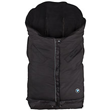 Buy Maclaren BMW Expandable Footmuff, Black Online at johnlewis.com