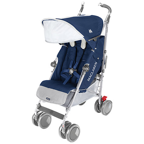 Buy Maclaren Techno XT Buggy, Medieval Blue Online at johnlewis.com