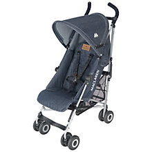 Buy Maclaren Quest Buggy, Denim Indigo Online at johnlewis.com