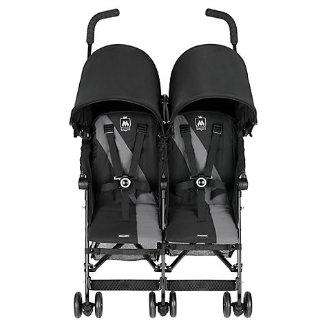 Buy Maclaren Twin Triumph Buggy Online at johnlewis.com