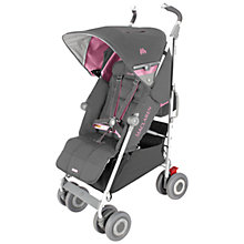 Buy Maclaren Techno XLR Pushchair, Dove/Orchid Online at johnlewis.com
