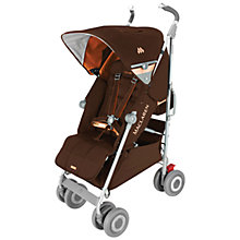 Buy Maclaren Techno XLR Pushchair, Coffee/Orange Online at johnlewis.com