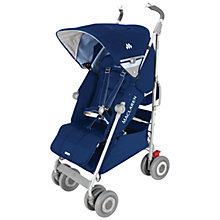 Buy Maclaren Techno XLR Pushchair, Medieval Blue Online at johnlewis.com