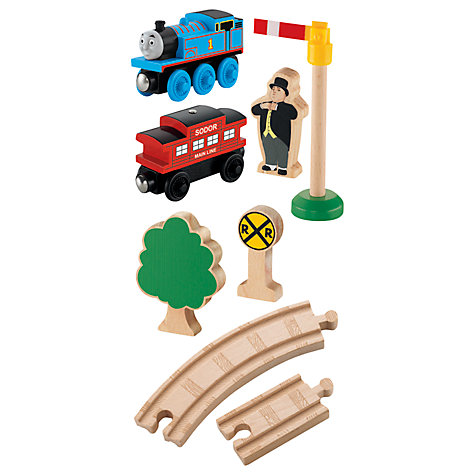Buy Thomas & Friends Wooden Starter Train Set Online at johnlewis.com