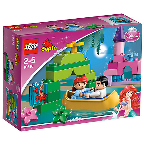 Buy LEGO DUPLO Ariel's Boat Ride Online at johnlewis.com