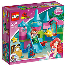Buy LEGO DUPLO Disney Princess Ariel's Castle Online at johnlewis.com