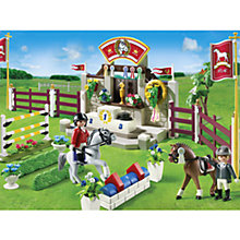 Buy Playmobil Horse Show Online at johnlewis.com