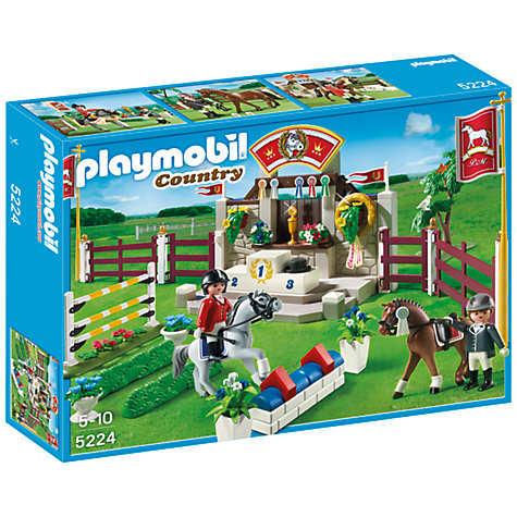 Buy Playmobil Country Horse Show Online at johnlewis.com