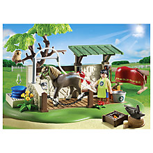 Buy Playmobil Country Horse Care Station Online at johnlewis.com