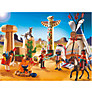 Playmobil Western Native American Camp With Totem Pole