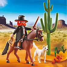 Buy Playmobil Western Sheriff With Horse Online at johnlewis.com