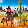 Playmobil Western Sheriff With Horse