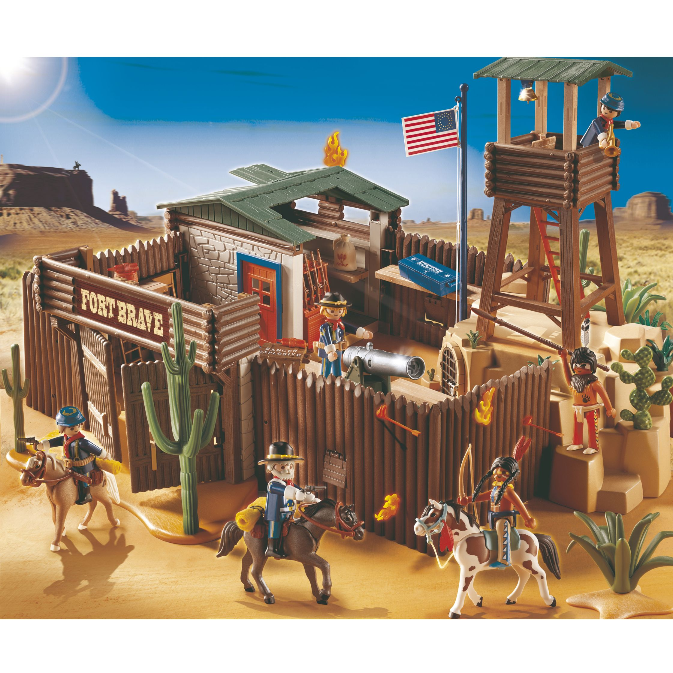 Click here for Playmobil Western Fort